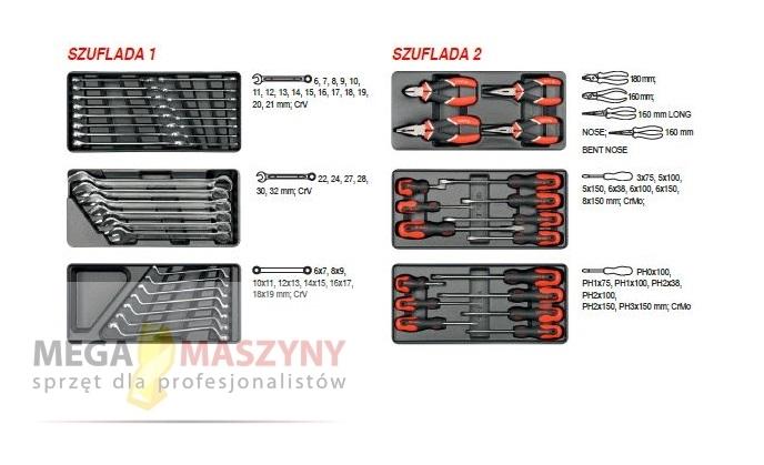 fcefbd96667e0b Wózek narzędziowy + zestaw narzędzi - Sklep megamaszyny.com.pl ...